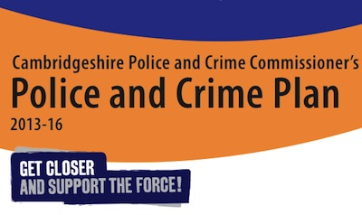 Cambridgeshire Police and Crime Plan Cover