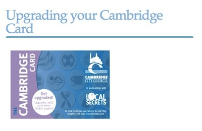 Cambridge Cards from Local Secrets