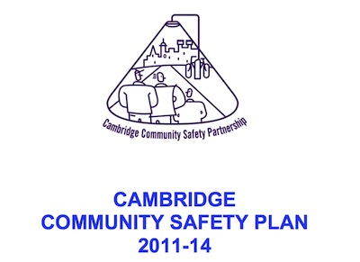 Cover of Cambridge's Community Safety Plan 2011-2014