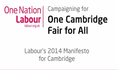 Cambridge Labour Manifesto 2014