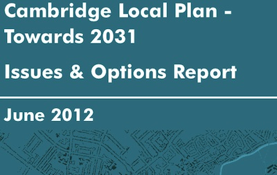 Cambridge Local Plan Issues and Options Document.