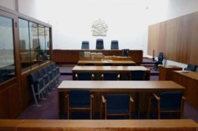 Inside Cambridge Magistrate's Court
