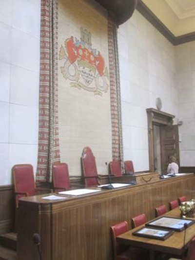 Cambridge City Council Chamber