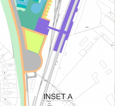 Chesterton Station Plan