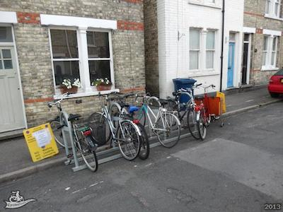 Thoday Street Cycle Parking Trial