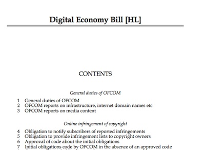 Digital Economy Bill