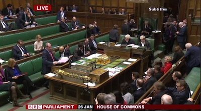 House of Commons - 26 January 2015