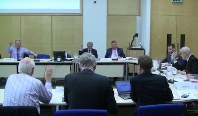 Professor Slater of Cambridge University Voting To Continue Investigating a Bus only Slip from the M11, 3 March 2016
