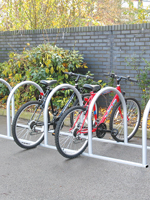 Toast Rack Cycle Parking