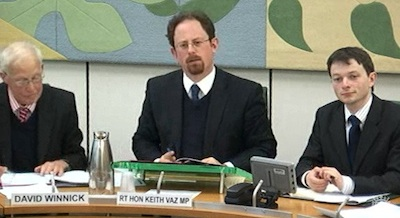MP Julian Huppert Chairing the Home Affairs Select Committee