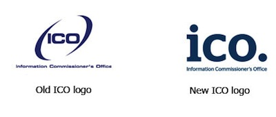 Old and new ICO Logos.