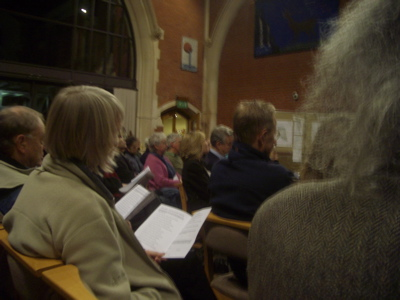 Photograph of the Jesus Green Association Public Meeting in December 2008