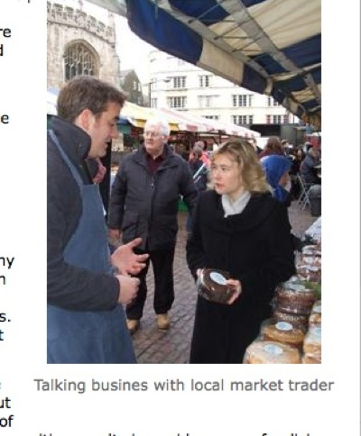 A Cake Stall - Julie Smith Getting to Grips with Cambridge Business?