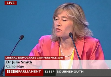 Cllr Julie Smith Speaks in Favour of More Spin and Media Management at Lib Dem Conference