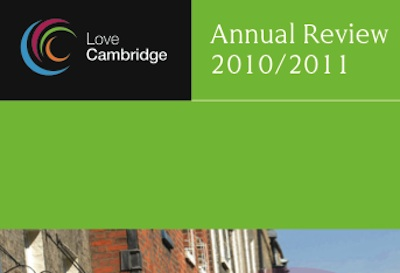Love Cambridge Annual Report Cover