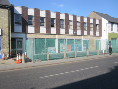 Shopfitting work is underway inside the shop on Mill Road which is due to open as a Tesco store on Saturday the 26th of August.