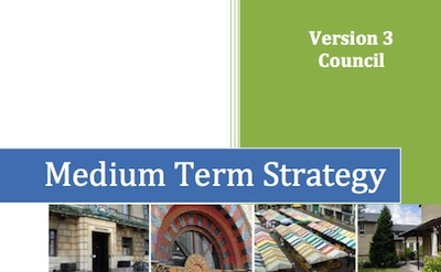 Cambridge City Council Medium Term Strategy 2010 - version 3  - November 2010