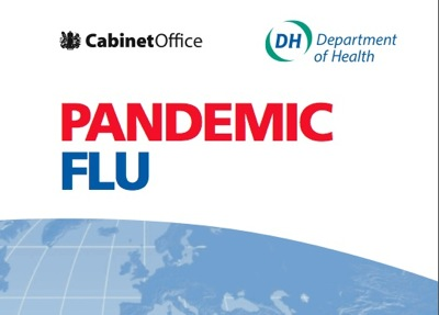 Cover of the Department of Health's Pandemic Flu Plan
