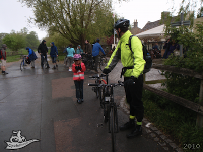 Cambridge City Council Charged the Cambridge Cycling Campaign £86.10 for meeting up on the Midsummer Common Cycle Path.