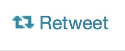 Retweet button image