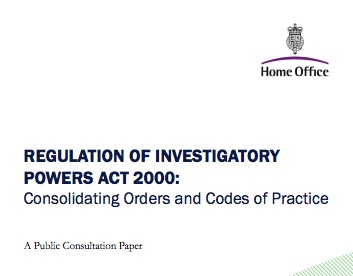 RIPA consultation document