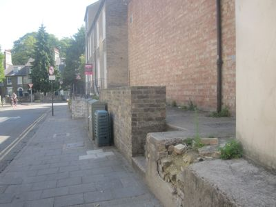 Cambridge City Councillors Have Given Up Trying to Sort Out This Wall