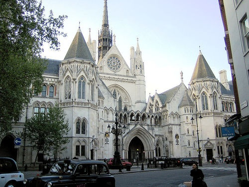 The Royal Courts of Justice. The country's great cathedral of justice is reduced to a mere reminder of a past era by the government's erosion of the right to trial by jury.