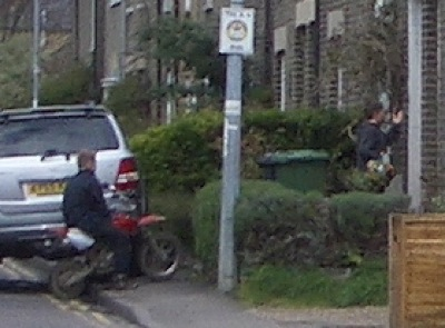 Youths with Scooters on French's Road, Arbury