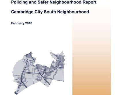 Police report to councillors at area committees and councillors approve policing priorities for the next few months.
