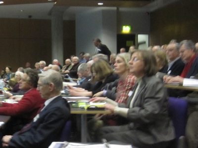 Audience at the Tall Buildings Event