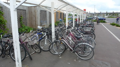 Cycle Parking at Newmarket Road Tesco, Cambridge
