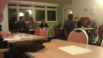 Management of the 222 Victoria Road Hostel at the 12th October 2011 Triangle Meeting
