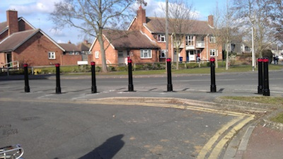 Following the January 2012 meeting the wooden bollards between Water St. and Fen Road were replaced with metal ones. The wooden ones kept getting sawn off.