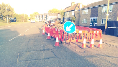 Water Street / Fen Road Works September 2016